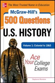 Cover of: Mcgrawhills 500 Us History Questions