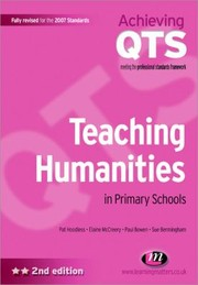 Cover of: Teaching Humanities In Primary Schools