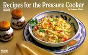 Cover of: Recipes for the pressure cooker