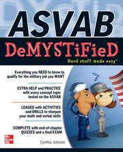 Cover of: Asvab Demystified