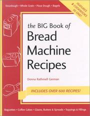 Cover of: The Big Book of Bread Machine Recipes