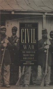 Cover of: The Civil War The Third Year Told By Those Who Lived It
