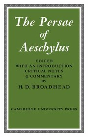 Cover of: The Persae Of Aeschylus