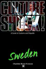 Cover of: Culture Shock! | Charlotte Rosen Svensson