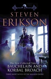 Cover of: The First Collected Tales of Bauchelain  Korbal Broach Steven Erikson