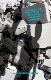 Cover of: Edward Said on the Prospects of Peace in Palestine and Israel