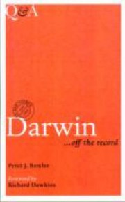 Cover of: Darwin  Off the Record