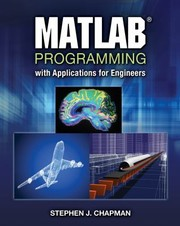 Cover of: Matlab Programming With Applications For Engineers