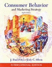Cover of: Consumer behavior & marketing strategy |