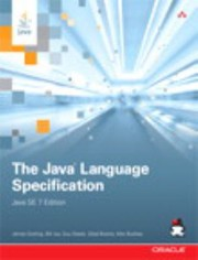 Cover of: The Java Language Specification Java SE 7 Edition