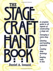 Cover of: The stagecraft handbook
