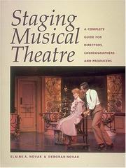 Stagingmusical theatre by Elaine Adams Novak