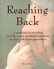 Cover of: Reaching back by Alice Zillman Chapin