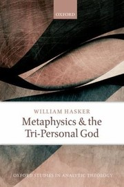 Cover of: Metaphysics and the Tripersonal God