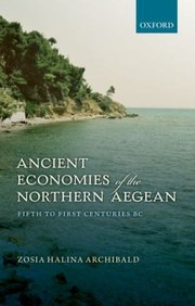 Cover of: Ancient Economies Of The Northern Aegean Fifth To First Centuries Bc