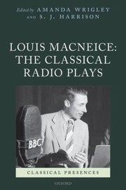 Cover of: Louis Macneice The Classical Radio Plays