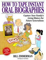 Cover of: How to tape instant oral biographies