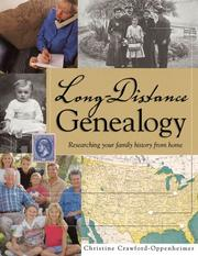 Cover of: Long-distance genealogy | Christine Crawford-Oppenheimer