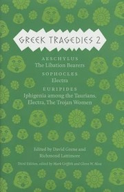 Cover of: Greek Tragedies 2 Aeschylus
