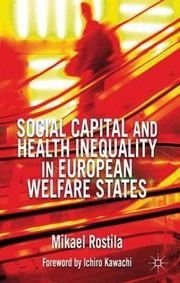 Cover of: Social Capital And Health Inequality In European Welfare States