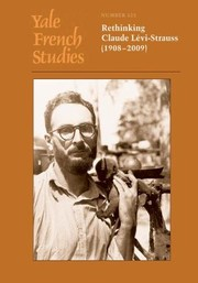 Cover of: Rethinking Claude Lvistrauss 19082009