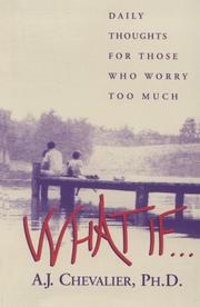 Cover of: What If . .