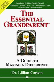Cover of: The essential grandparent