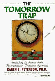 Cover of: The tomorrow trap
