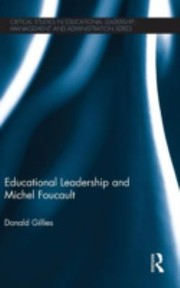 Cover of: Educational Leadership And Michel Foucault
