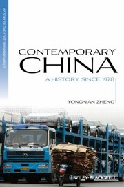 Cover of: Contemporary China A History Since 1978