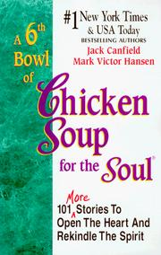 Cover of: A 6th Bowl of Chicken Soup for the Soul