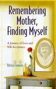 Cover of: Remembering Mother, Finding Myself