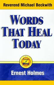 Cover of: Words That Heal Today