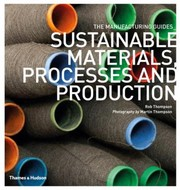 Cover of: Sustainable Materials Processes And Production