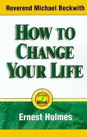 Cover of: How to change your life