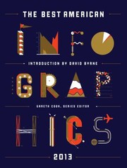 Cover of: The Best American Infographics 2013