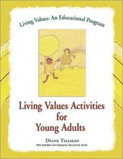 Cover of: Living Values Activities for Young Adults (Living Values)
