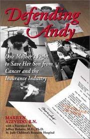 Cover of: Defending Andy | Marilyn Azevedo