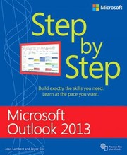 Cover of: Microsoft Outlook 2013 Step By Step
