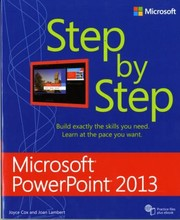 Cover of: Microsoft Powerpoint 2013 Step By Step