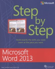 Cover of: Microsoft Word 2013 Step By Step