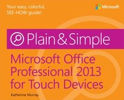Cover of: Microsoft Office Professional 2013 For Touch Devices