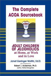 Cover of: The Complete ACOA Sourcebook | Janet Woititz