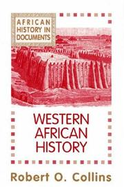Cover of: Western African history
