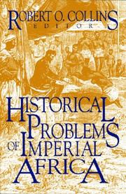 Cover of: Historical problems of imperial Africa