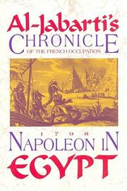 Cover of: Napoleon in Egypt