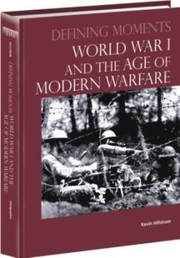 Cover of: World War I And The Age Of Modern Warfare