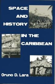 Cover of: Space And History in the Caribbean
