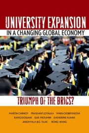 Cover of: University Expansion In A Changing Global Economy Triumph Of The Brics
