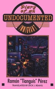 Cover of: Diary of an undocumented immigrant